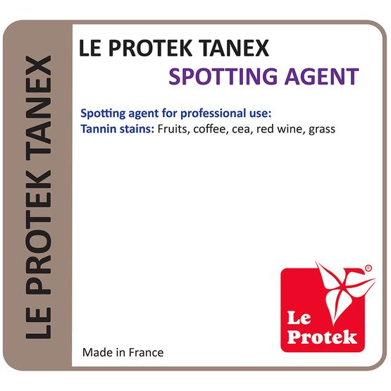Le Protek Tanex : Spotting Agent for Tannin Stains