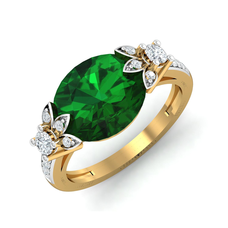 Emerald Diamond Jewellery