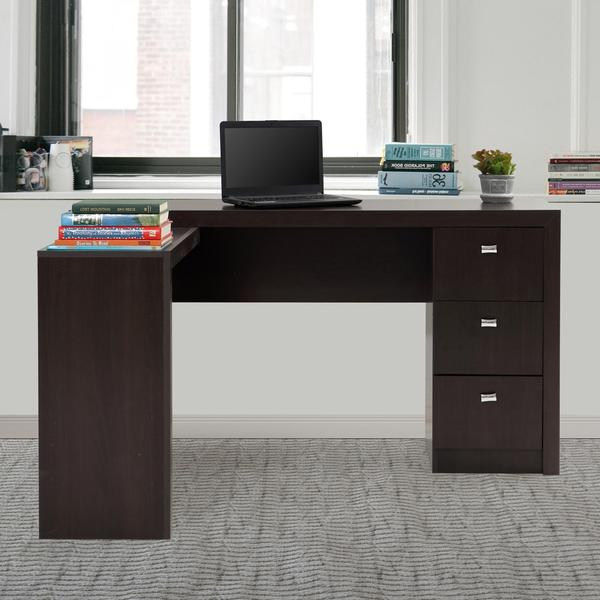 Classic Modular Kitchen Cabinets Rs 18000 Piece: Buy Wooden Office Desk Online In India {Dark Brown Office