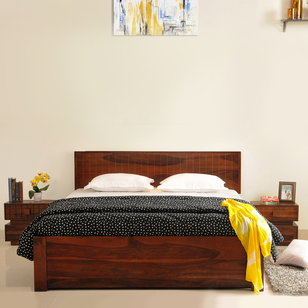 King Bed Imperial New Solidwood King Bed With Drawer