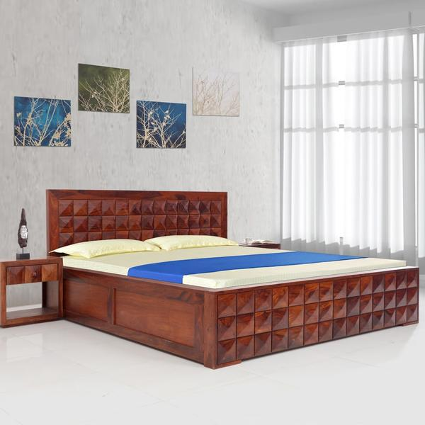 Diamond Furniture Bedroom Sets Pretty Bedrooms For Girls Purple Bedroom Design Red Bedroom Wall Colour Combination Photos: King Bed, Diamond New Solidwood King Bed With Hydraulic