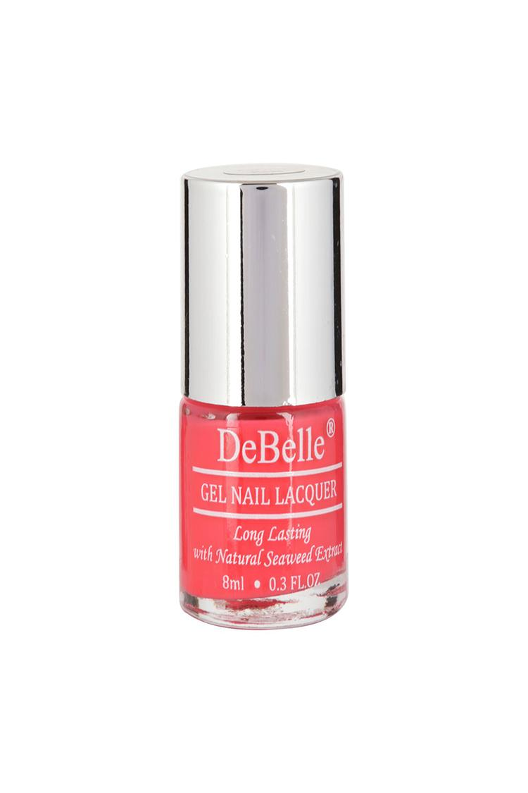 Debelle Gel Nail Polish Fuschia Rose Bright Pink 8