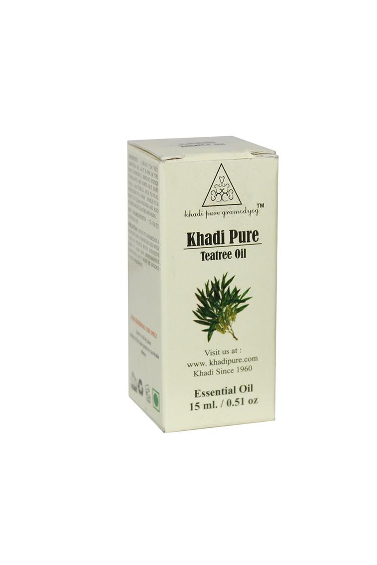 Khadi Pure Herbal Teatree Essential Oil 15Ml