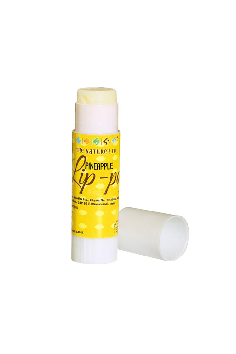 The Natures Co Pineapple Lip-Pop 5 Ml