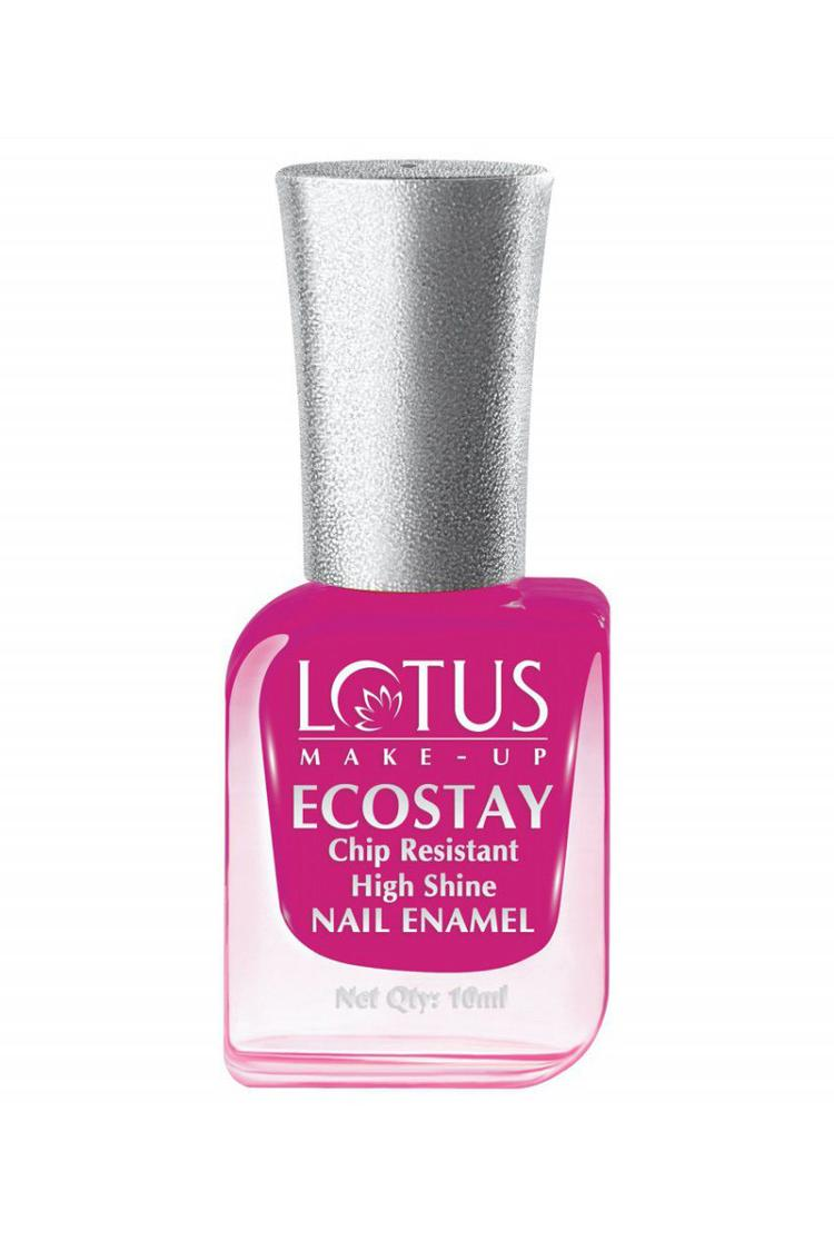 Lotus Ecostay Nail Enamels Magnetic Magenta