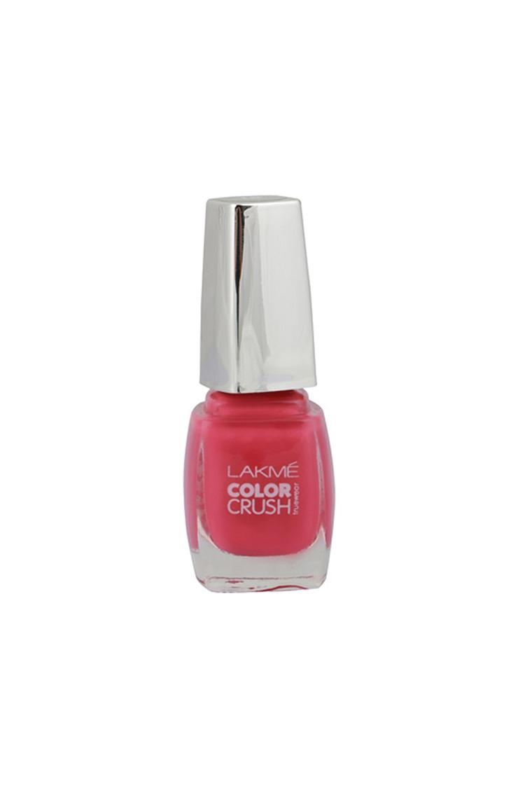 Lakme True Wear Color Crush Nail Color, Pinks 18,